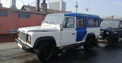 1991 2.5 petrol land rover defender 110