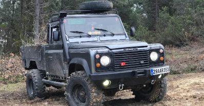 1995 2.5d land rover defender 110 pickup
