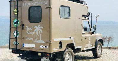 1994 defender 110 2.5d indoor case caravan