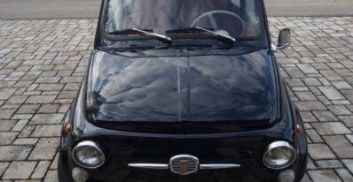 1970 fiat 500 f mini car